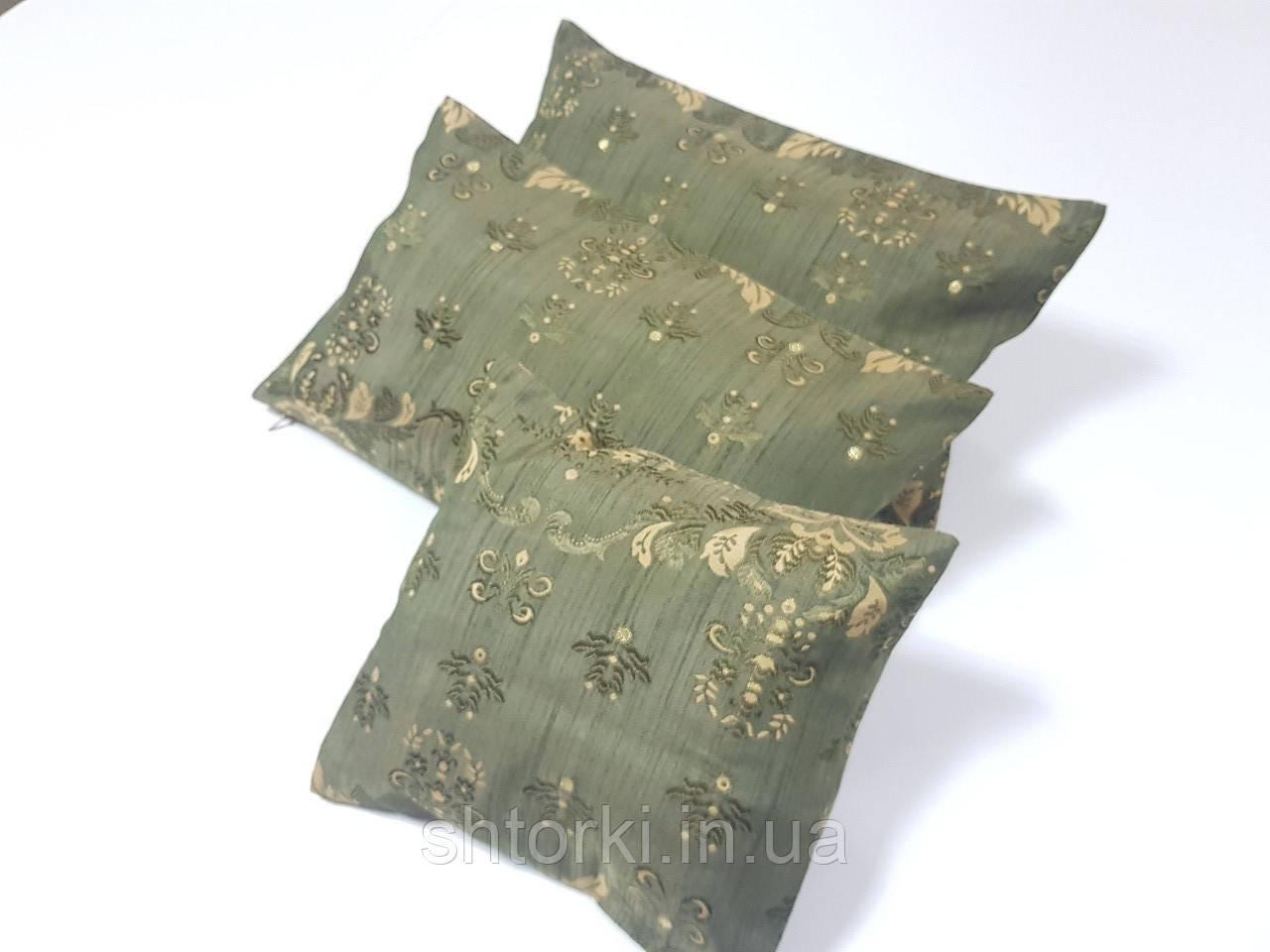 Комплект подушек  Арда зелень, 3шт