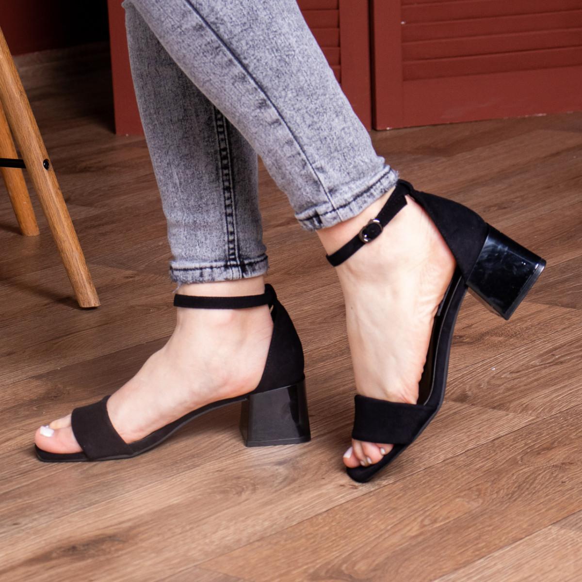 Жіночі босоніжки Fashion Halwa 2833 36 розмір, 23,5 см Чорний