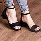 Жіночі босоніжки Fashion Halwa 2833 36 розмір, 23,5 см Чорний, фото 2