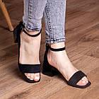 Жіночі босоніжки Fashion Halwa 2833 36 розмір, 23,5 см Чорний, фото 3