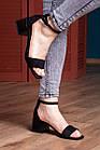 Жіночі босоніжки Fashion Halwa 2833 36 розмір, 23,5 см Чорний, фото 5