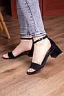 Жіночі босоніжки Fashion Halwa 2833 36 розмір, 23,5 см Чорний, фото 6