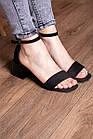 Жіночі босоніжки Fashion Halwa 2833 36 розмір, 23,5 см Чорний, фото 7
