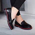 Лоферы женские Fashion Cassy 2644 36 размер 23,5 см Черный, фото 6