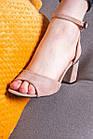 Женские босоножки Fashion Jacee 2735 38 размер 25 см Бежевый, фото 6