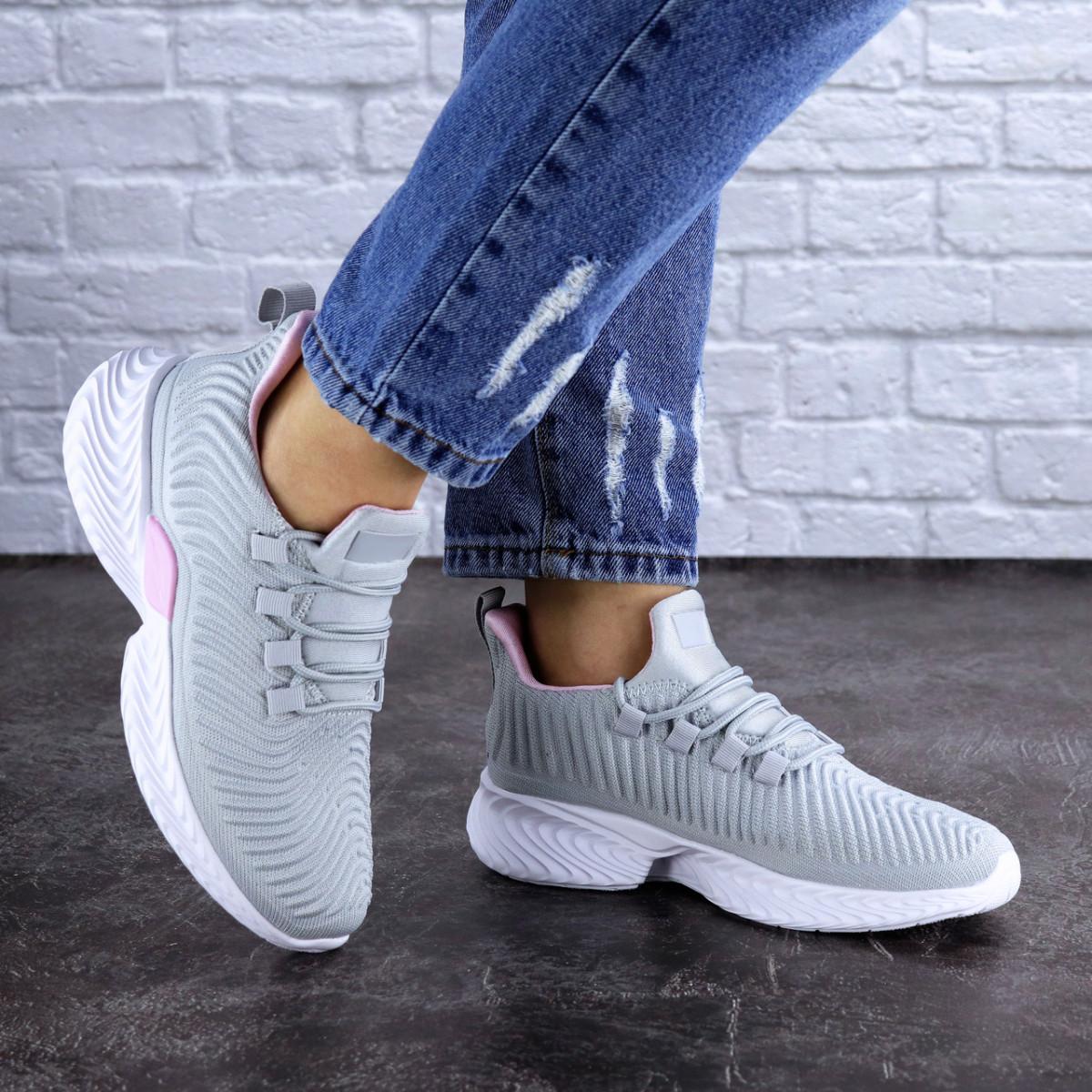 Женские кроссовки Fashion Ripple 1730 36 размер 23,5 см Серый