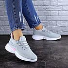 Женские кроссовки Fashion Ripple 1730 36 размер 23,5 см Серый, фото 2