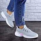 Женские кроссовки Fashion Ripple 1730 36 размер 23,5 см Серый, фото 3