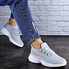 Женские кроссовки Fashion Ripple 1730 36 размер 23,5 см Серый, фото 4