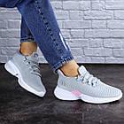 Женские кроссовки Fashion Ripple 1730 36 размер 23,5 см Серый, фото 5