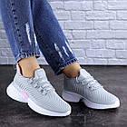 Женские кроссовки Fashion Ripple 1730 36 размер 23,5 см Серый, фото 6