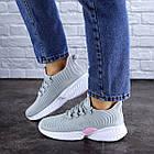 Женские кроссовки Fashion Ripple 1730 36 размер 23,5 см Серый, фото 7