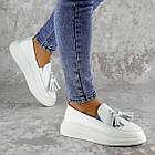 Мокасини жіночі Fashion Pansy 2147 36 розмір, 23,5 см Білий 40, фото 2