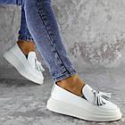 Мокасини жіночі Fashion Pansy 2147 36 розмір, 23,5 см Білий 40, фото 3