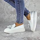 Мокасини жіночі Fashion Pansy 2147 36 розмір, 23,5 см Білий 40, фото 4