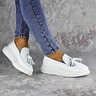 Мокасини жіночі Fashion Pansy 2147 36 розмір, 23,5 см Білий 40, фото 5