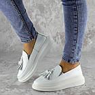 Мокасини жіночі Fashion Pansy 2147 36 розмір, 23,5 см Білий 40, фото 7