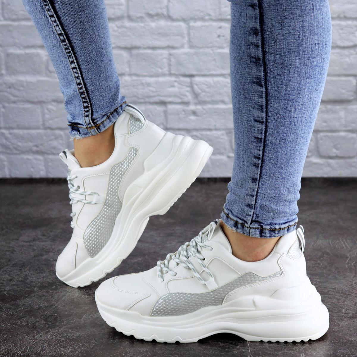Женские кроссовки Fashion Tomas 2075 36 размер 23 см Белый
