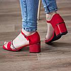 Женские босоножки Fashion Jazzy 2791 37 размер 24 см Красный 39, фото 2