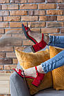 Женские босоножки Fashion Jazzy 2791 37 размер 24 см Красный 39, фото 3