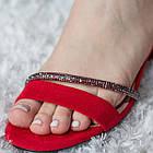 Женские босоножки Fashion Jazzy 2791 37 размер 24 см Красный 39, фото 4