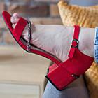 Женские босоножки Fashion Jazzy 2791 37 размер 24 см Красный 39, фото 5