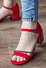 Женские босоножки Fashion Jazzy 2791 37 размер 24 см Красный 39, фото 7