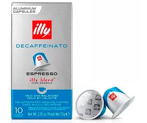 Кофе в капсулах Illy Nespresso Espresso Decaffeinato - 10 шт