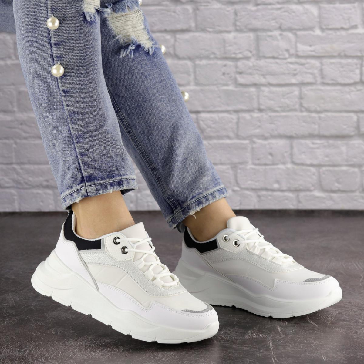 Жіночі кросівки Fashion Wackey 1379 38 розмір 24 см Білий