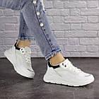 Жіночі кросівки Fashion Wackey 1379 38 розмір 24 см Білий, фото 3