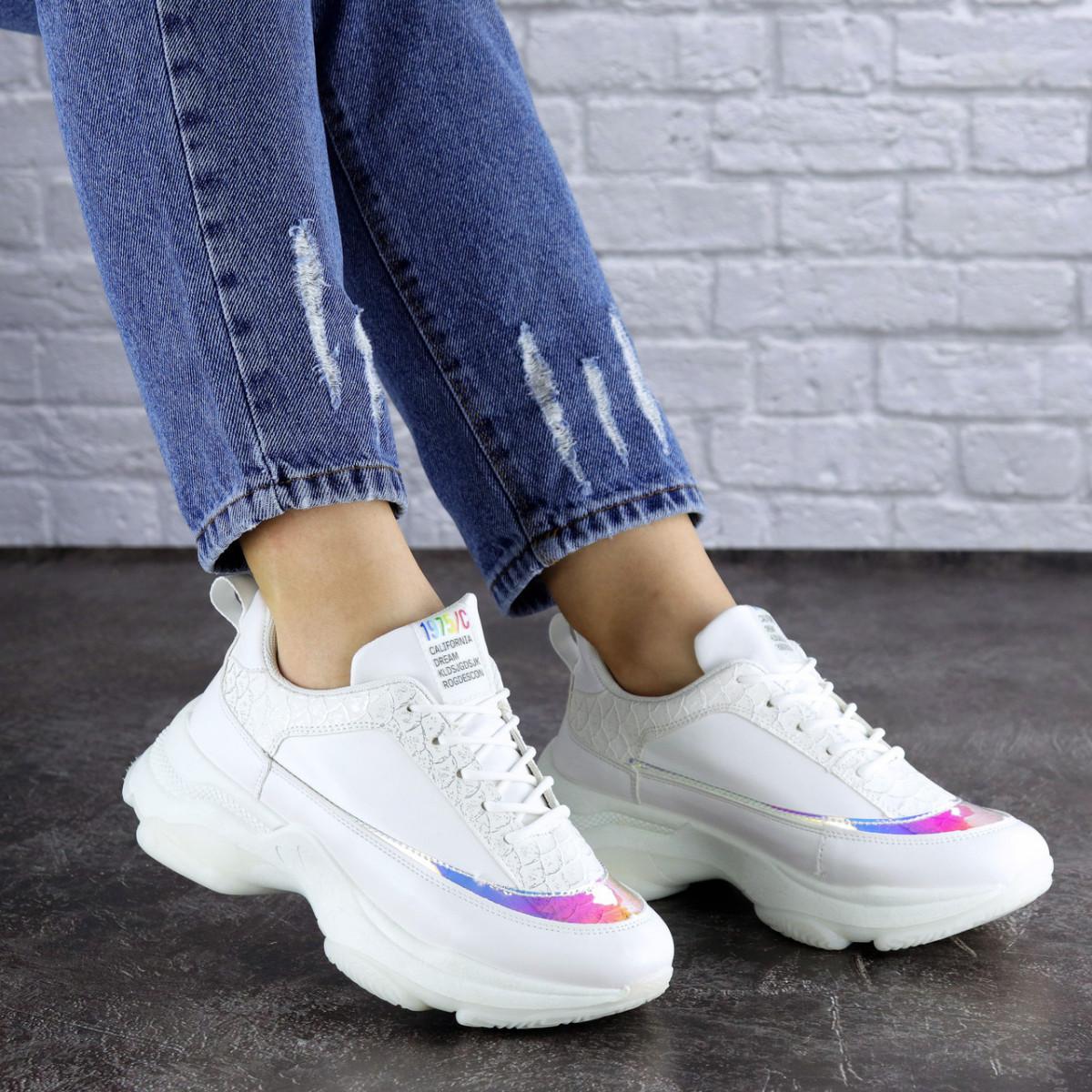 Жіночі кросівки Fashion Zeek 1780 38 розмір 24 см Білий