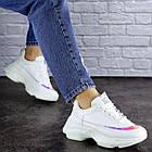 Жіночі кросівки Fashion Zeek 1780 38 розмір 24 см Білий, фото 3