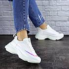 Жіночі кросівки Fashion Zeek 1780 38 розмір 24 см Білий, фото 8