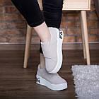 Сліпони жіночі Fashion Abiah 2733 37 розмір 23,5 см 39 Сірий, фото 2