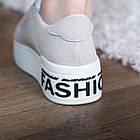 Сліпони жіночі Fashion Abiah 2733 37 розмір 23,5 см 39 Сірий, фото 3