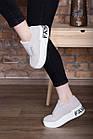 Сліпони жіночі Fashion Abiah 2733 37 розмір 23,5 см 39 Сірий, фото 8
