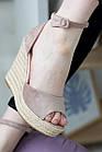Жіночі босоніжки Fashion Labelle 2811 36 розмір 23 см Бежевий 38, фото 8