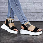 Женские сандалии Fashion Leia 1796 36 размер 23 см Черный, фото 5