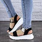 Женские сандалии Fashion Leia 1796 36 размер 23 см Черный, фото 7