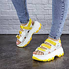 Женские сандалии Fashion Victoria 1846 37 размер 23,5 см Белый, фото 3