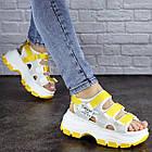 Женские сандалии Fashion Victoria 1846 37 размер 23,5 см Белый, фото 4