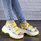 Женские сандалии Fashion Victoria 1846 37 размер 23,5 см Белый, фото 5
