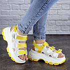 Женские сандалии Fashion Victoria 1846 37 размер 23,5 см Белый, фото 7