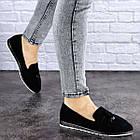 Жіночі слиперы Fashion Venus 1777 36 розмір 23 см Чорний, фото 6
