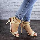 Женские босоножки Fashion Remi 1861 38 размер 24 см Бежевый, фото 10