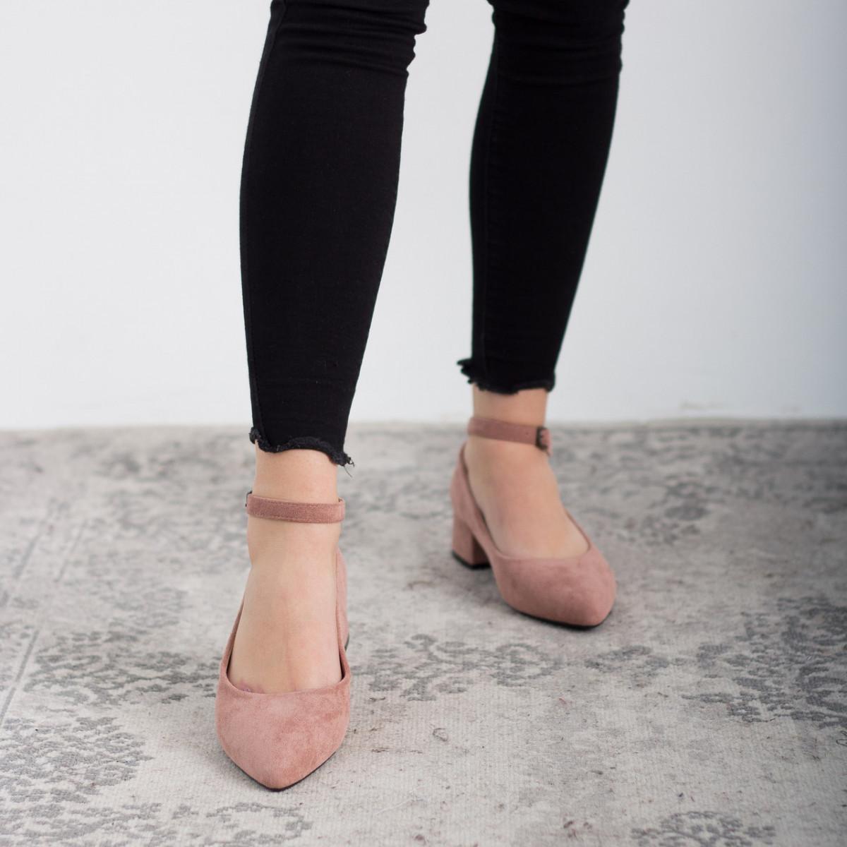 Туфли женские Fashion Caglistro 2629 36 размер 23,5 см Розовый