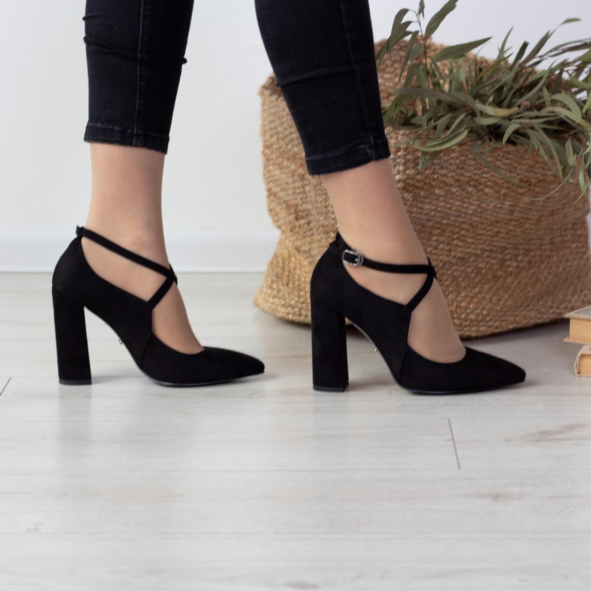 Туфлі жіночі Fashion Chumley 2555 35 розмір, 23 см Чорний