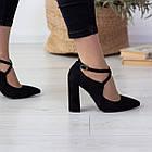 Туфлі жіночі Fashion Chumley 2555 35 розмір, 23 см Чорний, фото 2