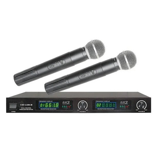 Радиомикрофон Shure UHF-LX88-III 2 микрофона 2104-00080