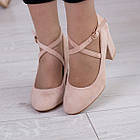 Туфлі жіночі Fashion Coco 2511 36 розмір, 23,5 см Бежевий, фото 5